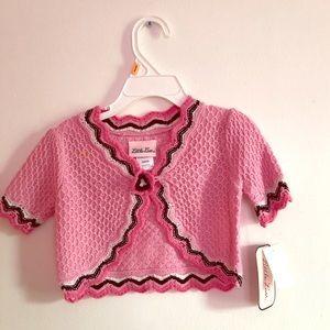 Baby girls knit cardigan Little Lass size 24months